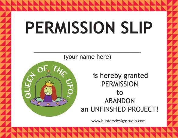 UFO Permission Slip