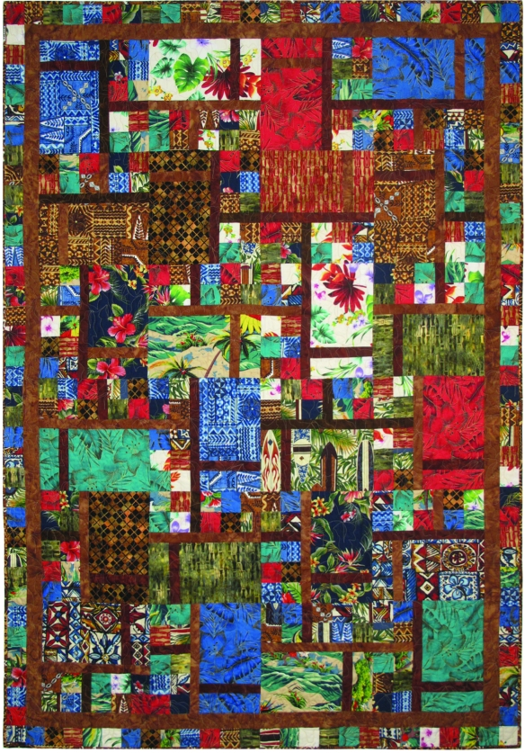 tropicals quilt
