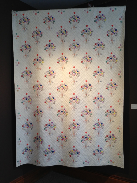 The Balloon Quilt, maker unknown, circa 1930. Donated by Olga Keesling. Courtesy the Latimer Quilt & Textile Center.