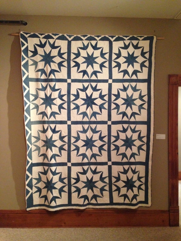 Texas Star, by Martha Logan Hall, 1853. Donated by Bromleigh and Mary Lamb. Courtesy Latimer Quilt & Textile Center
